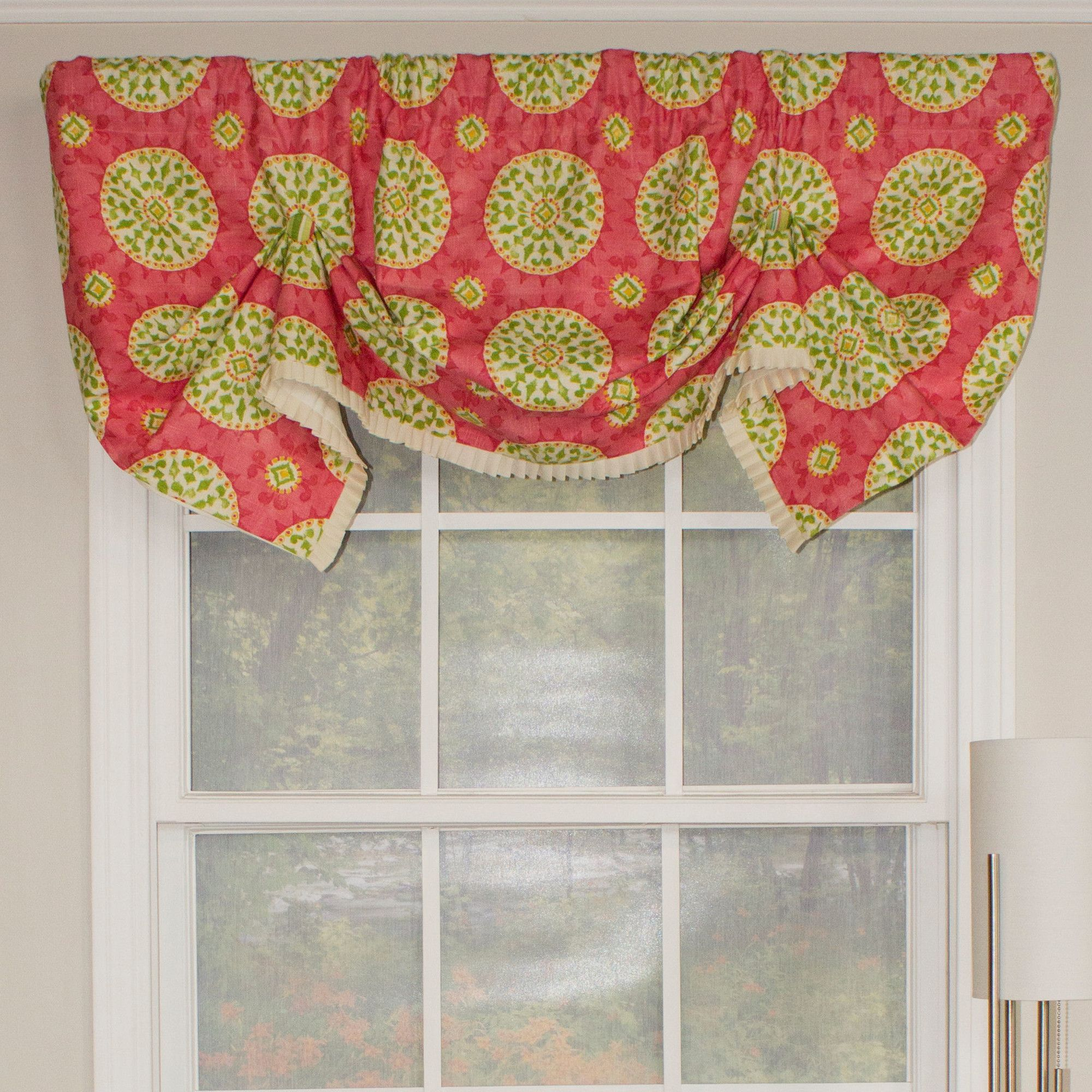 "Canne Handkerchief 50"" Curtain Valance"