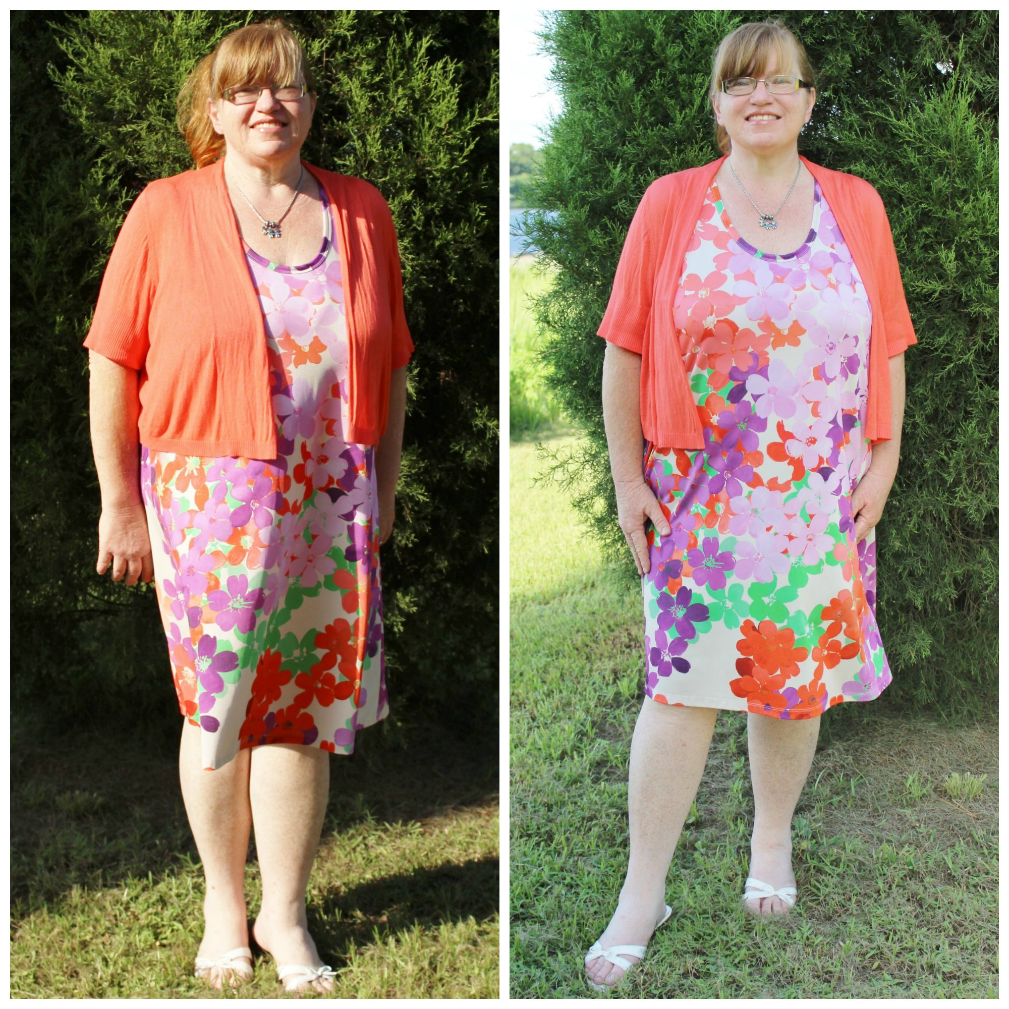 PAINTED GARDEN TANK DRESS #GwynnieBee #ShareMeGB