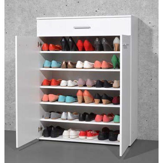 Ranger Ses Affaires Sans Placards Astuces Et Idees Deco Meuble Rangement Chaussures Meuble Rangement Meuble Chaussure
