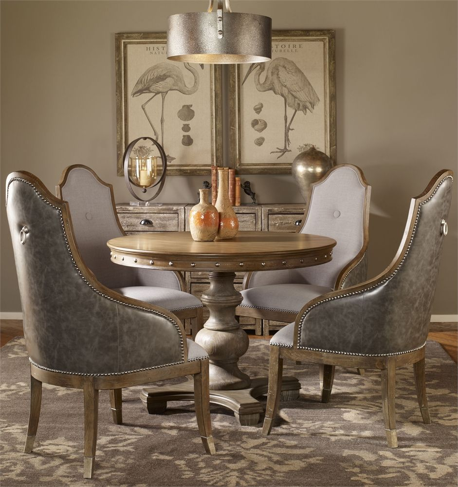 1c3252e2d2fc Uttermost Sylvana Wood Round Table Bodegas