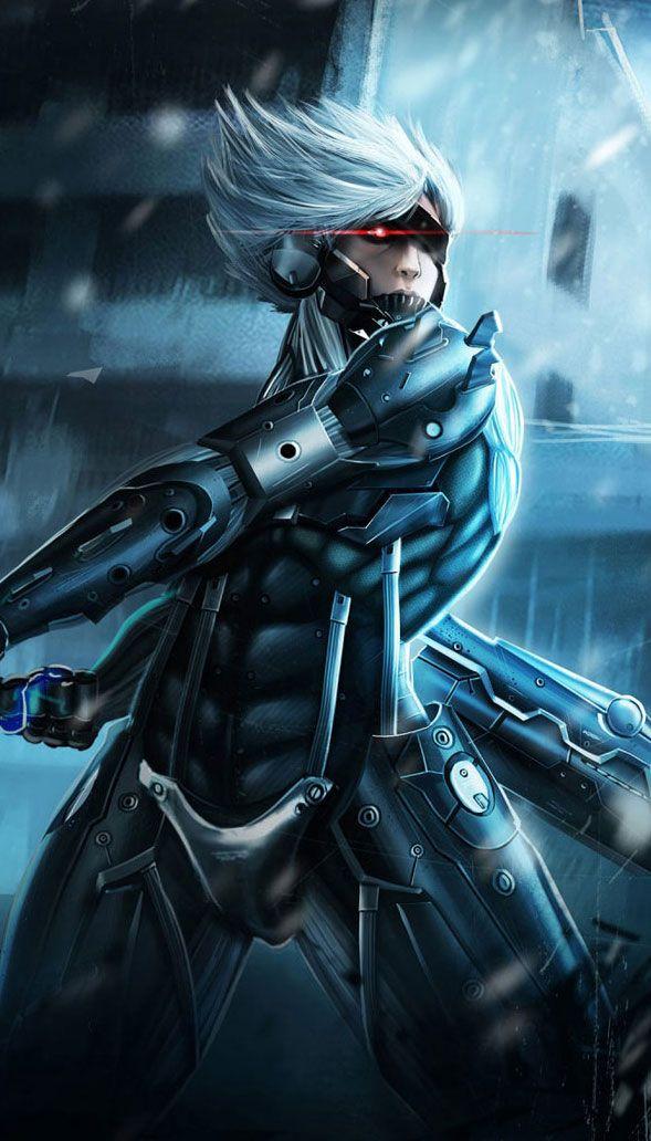 Metal Gear Rising Raiden Wallpapers Www Fabuloussavers Com Games