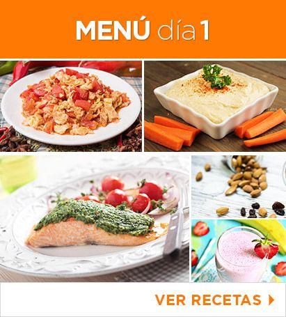 35 recetas f ciles para bajar de peso dieta saludable Menu comida casera