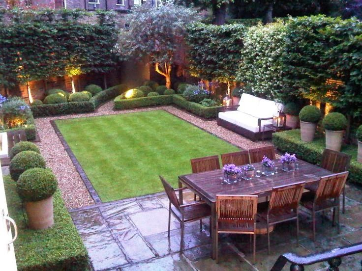 Georgetown House Small Backyard Garden Design Backyard
