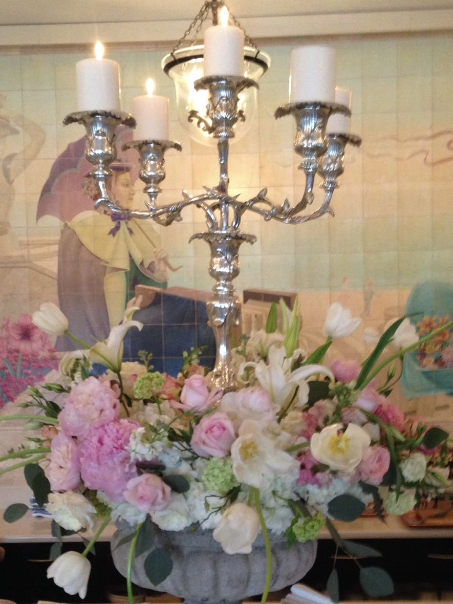 Wall lights by Millie Sumner on Millie's Flowers | Candle ... on Candle Wall Sconces With Flowers id=48537
