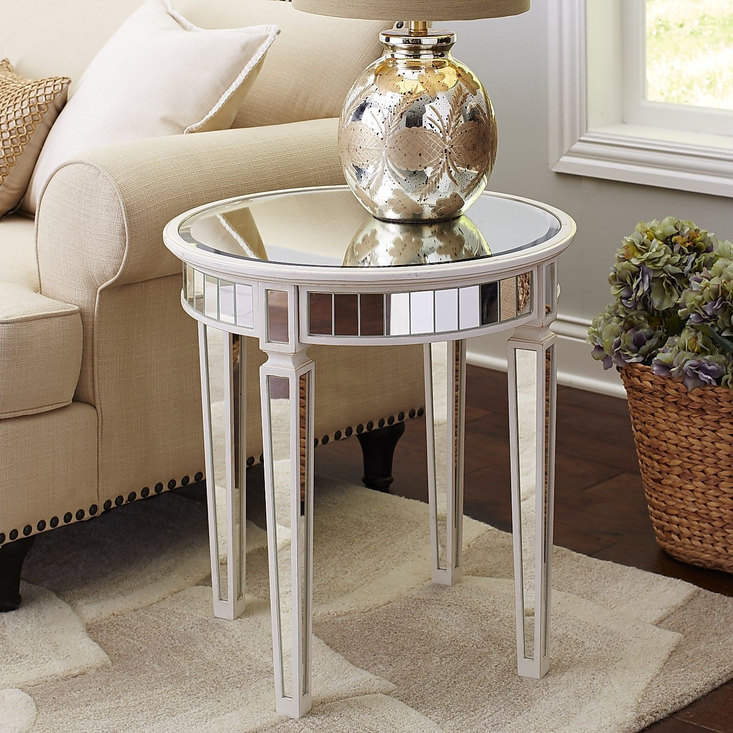 Best Merriweather End Table Antique White Pier 1 Imports Table End Tables Living Room Update 400 x 300