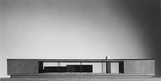 Mies van der Rohe...  The Resor House, Jackson Hole, Wyoming...1937-38...unbuilt