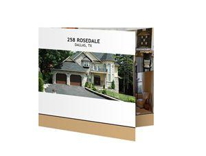 "xpressdocs.com ""the square"" tri-fold flyer, 5.5x5.5, .80 per piece (200 for 250)"