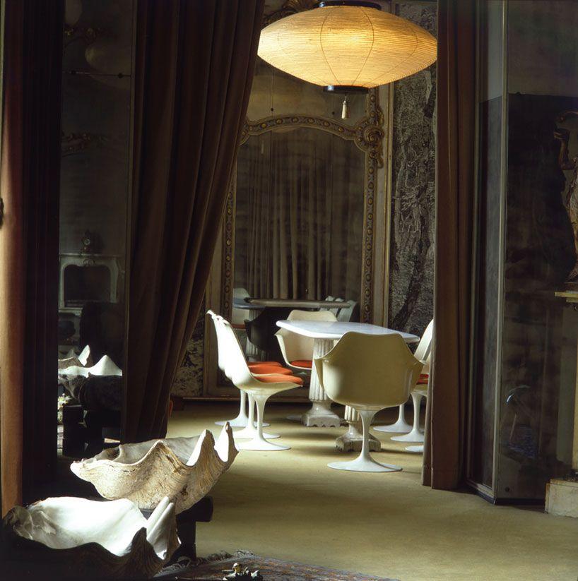 Carlo Mollino Polaroids #CarloMollino #interni #arredo #fotografia #design