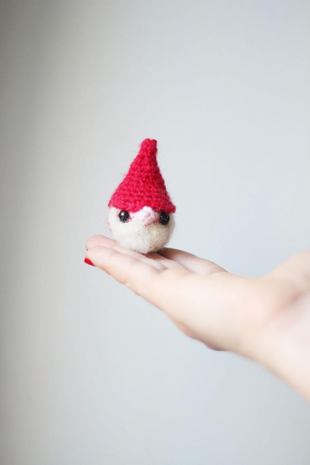 Christmas Gnome Amigurumi free pattern | crochet | Pinterest