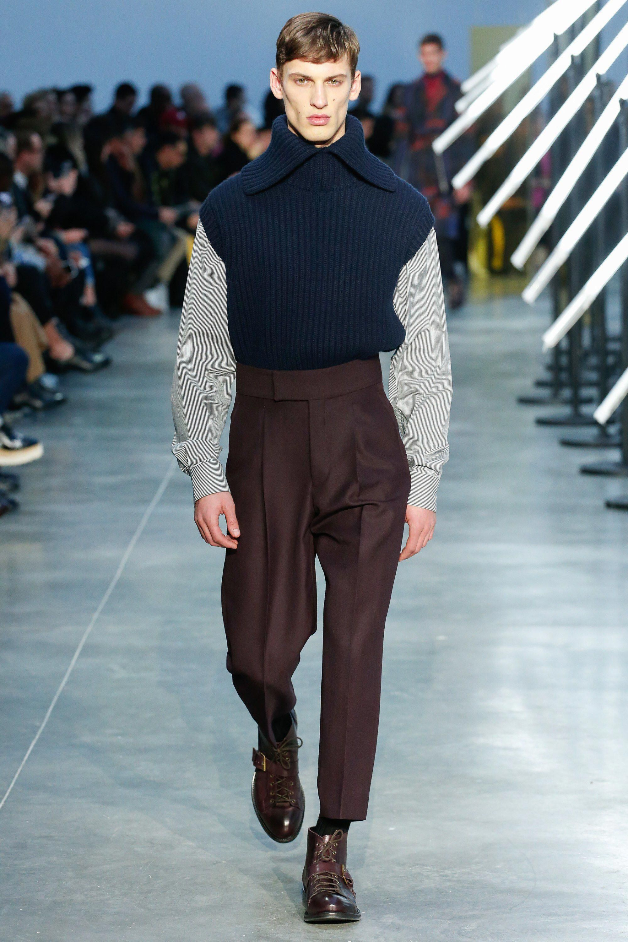 Cerruti fall menswear fashion show collection