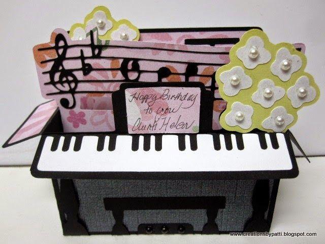 Creations by Patti: Birthday Piano Box Card
