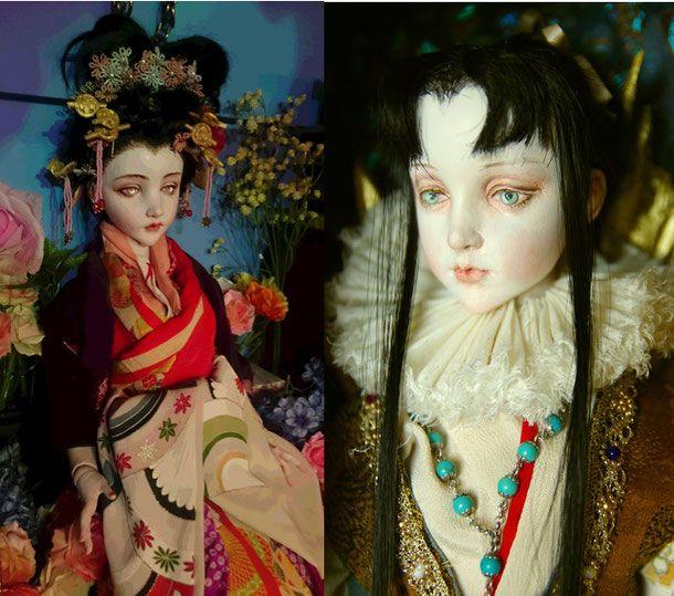 Top - Doll Artist Mari Shimizu / 人形作家 清水 真理