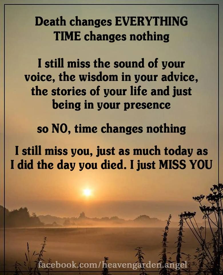 Still missing you poem
