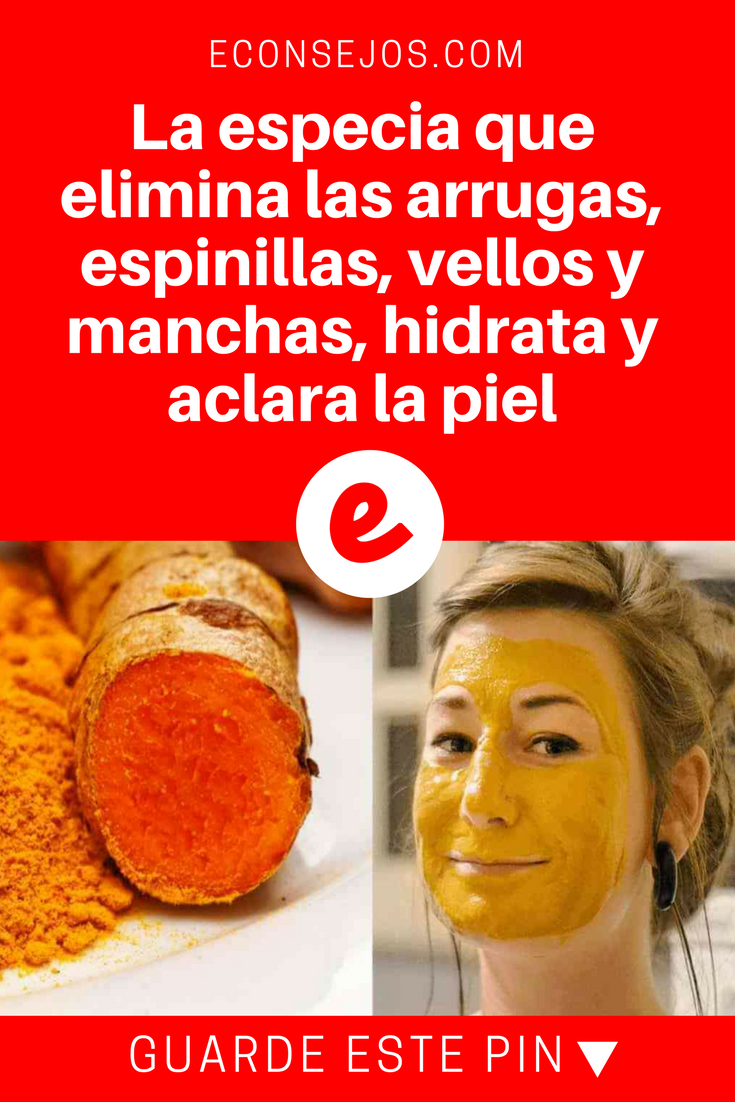 La Especia Que Elimina Las Arrugas Espinillas Vellos Y Manchas  ~ Como Quitar Las Manchas De Tomate