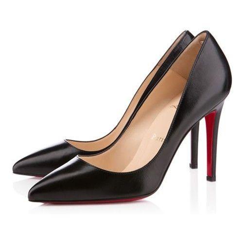 Chaussure Louboutin Pas Cher Escarpin Pigalle 100mm Noir #chaussure