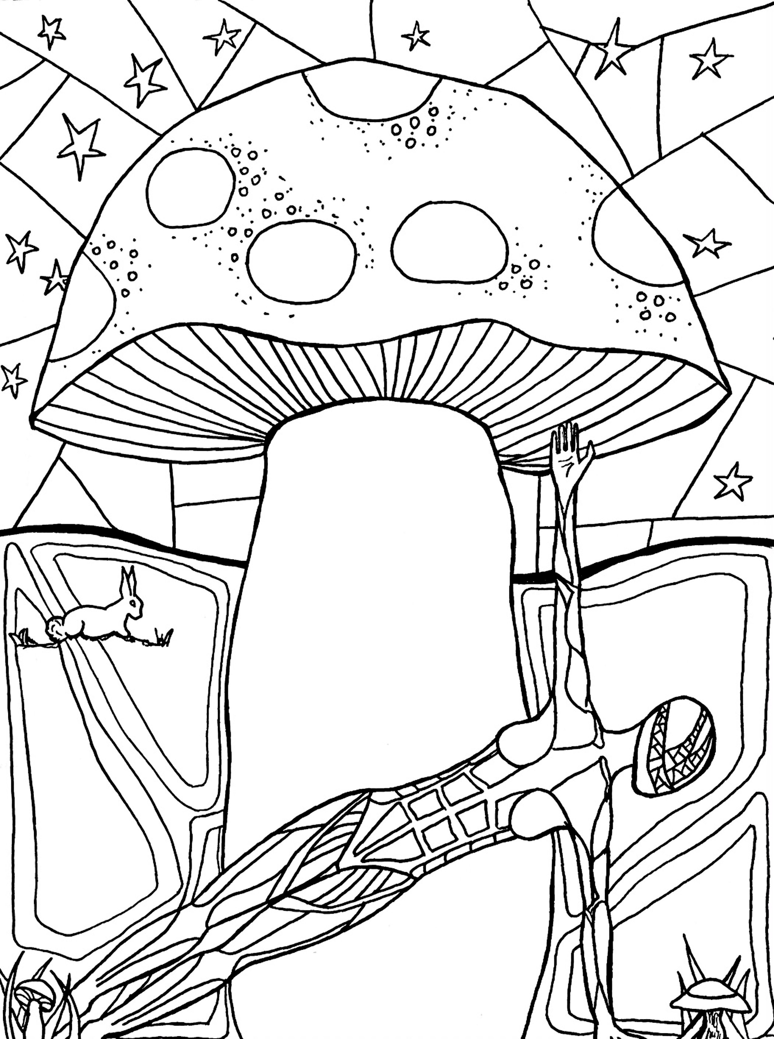 A Coloring Page from \