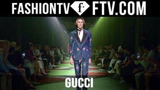 Milan Men Fashion Week Spring/Summer 2017 - Gucci | FTV.com http://ift.tt/296lipm #FashionTV #FTV #Fashion