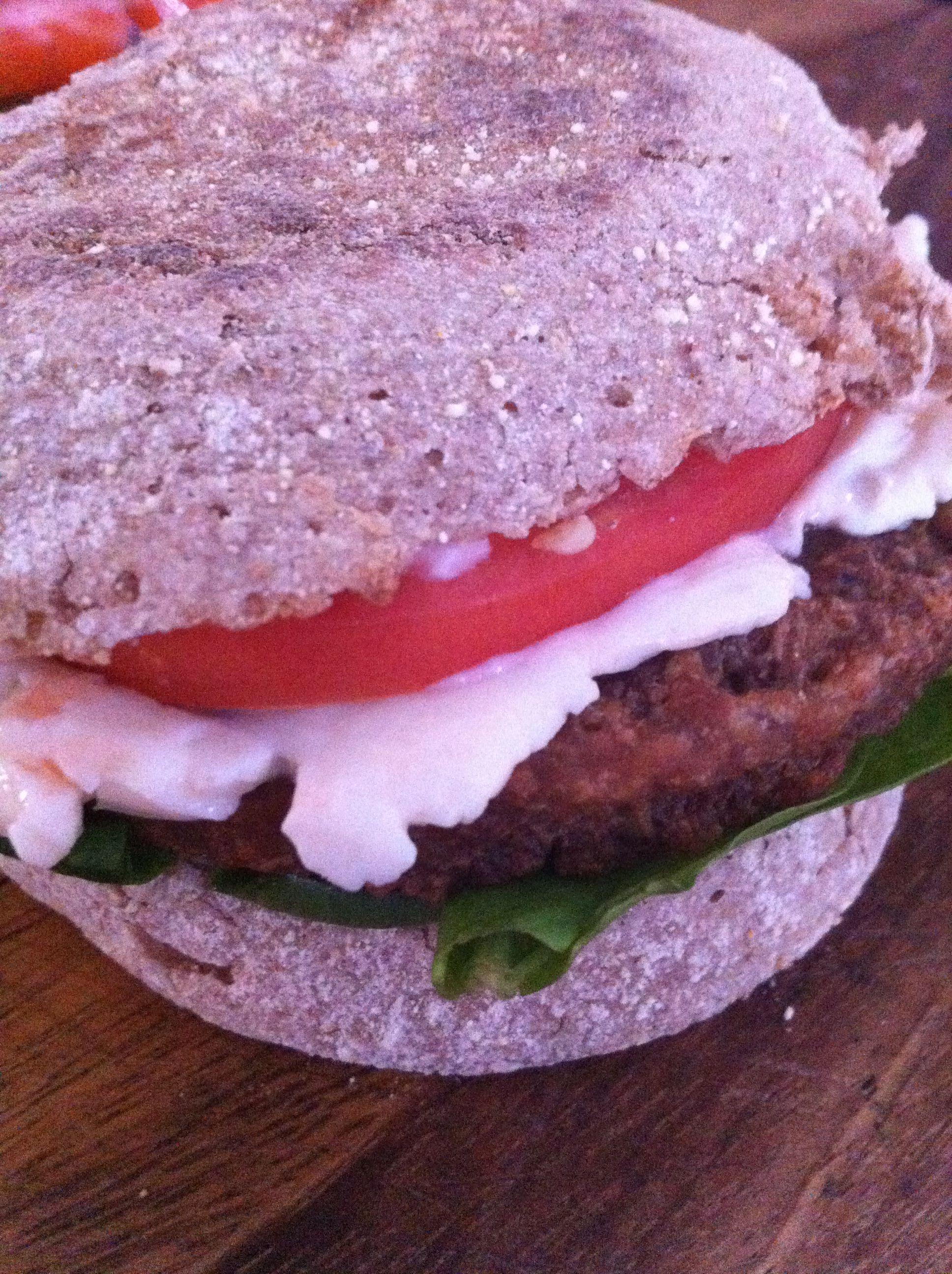 Whole Grain English Muffinmorningstar Veggie Burgerlaughing Cow