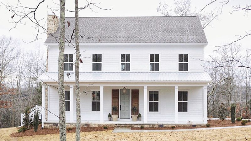 Cole Town Cottage Mitchell Ginn Southern Living House Plans Colonial House Plans Southern Living House Plans Colonial House