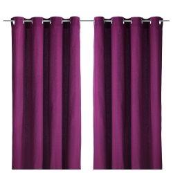 cortinas moradas - Cortinas Moradas