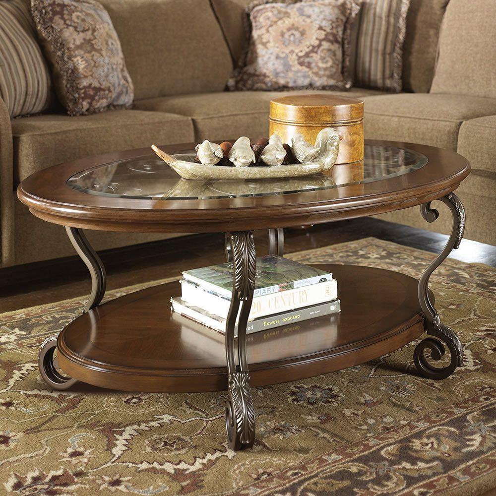 La polar mesa de centro ashley nestor muebles muebles for Ver de la salade
