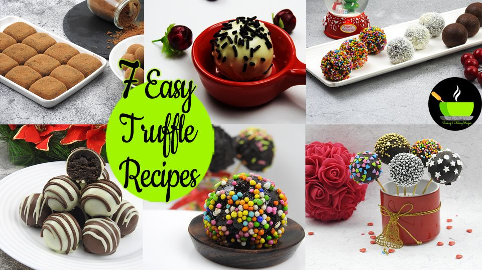 7 Easy Truffle Recipes Chocolate Truffle Oreo Truffle Condensed Milk Chocolate Truffles Recipe In 2020 Easy Truffles Truffle Recipe Easy Chocolate Recipes