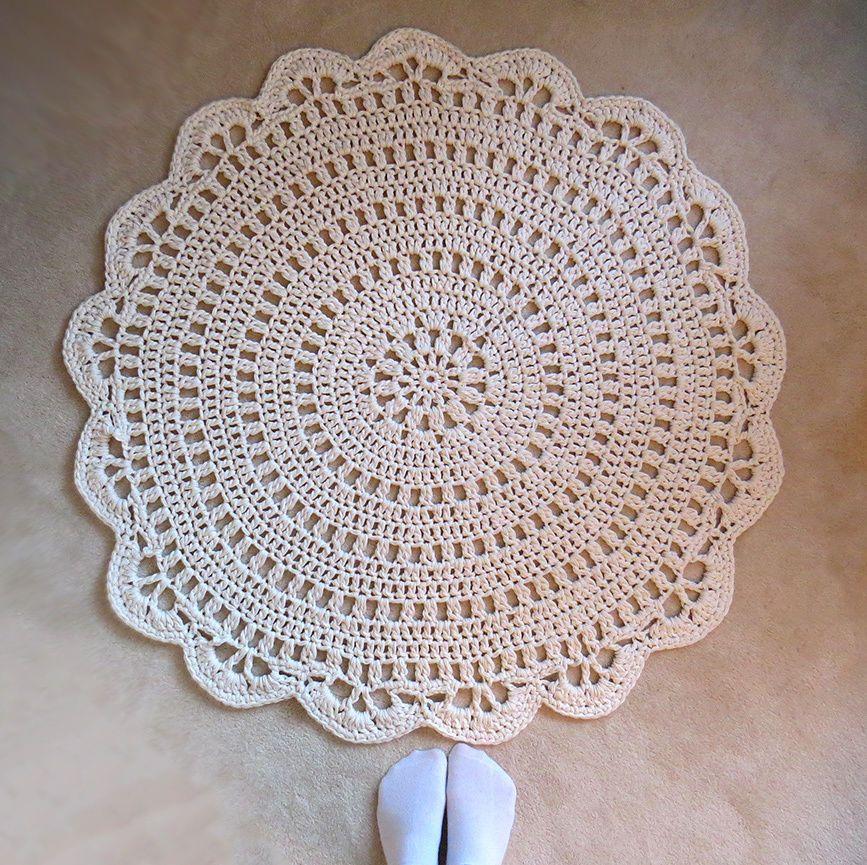 Sehr Betsy. Teppich häkeln. Anleitung kaufen. Handarbeit. DIY. | Häkeln JI89