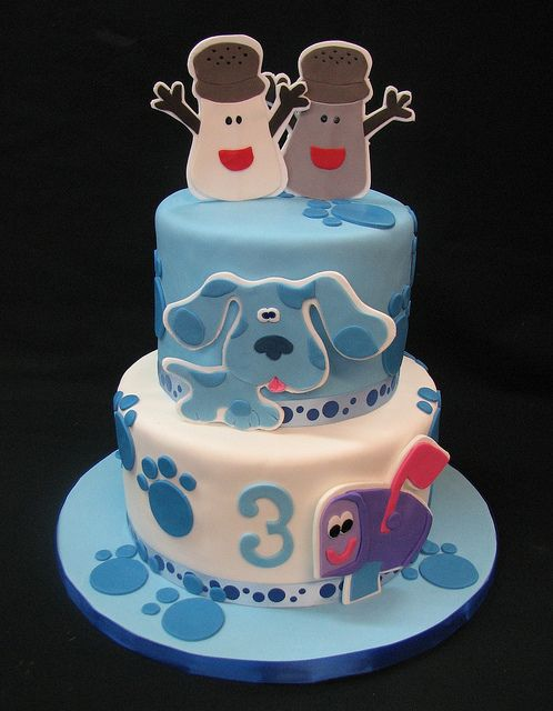 Blues Clues Monster Birthday Cakes Shared Birthday Parties 3rd