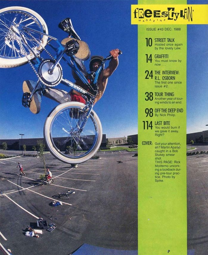 Rick Moliterno / Lookback Air! Bmx freestyle, Bmx, Bike