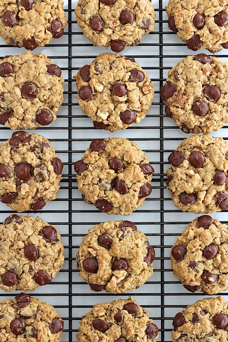 Flourless Oatmeal Chocolate Chip Cookies Recipe Treats