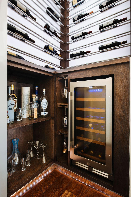 Luxury Wine Storage In A Small Space Custom Wine Room Wine Room