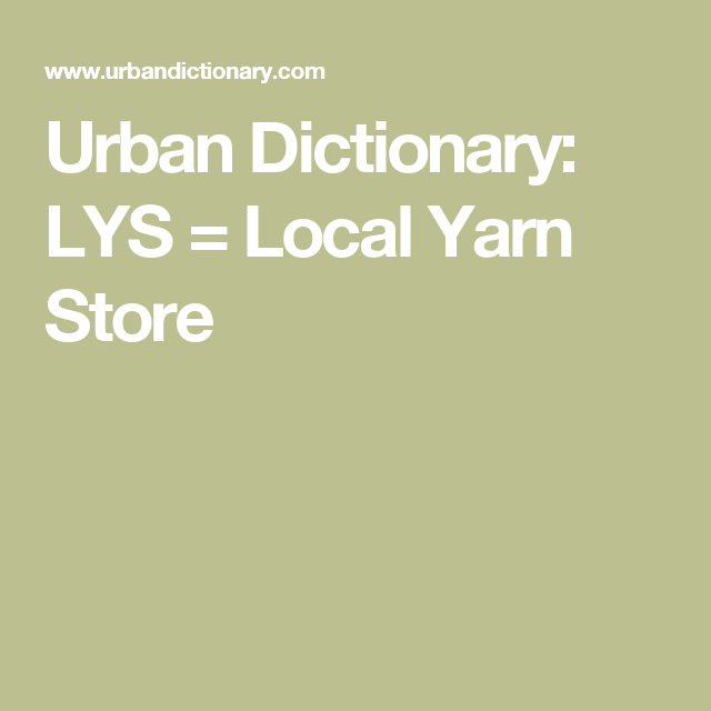 Image result for lys local yarn shop