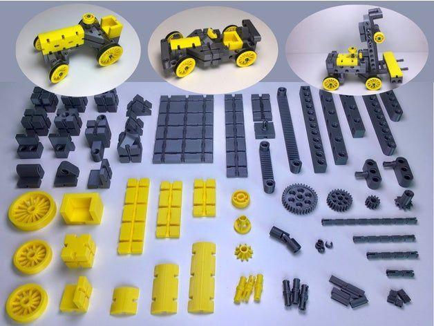 3d Gedruckter Spielzeug Bausatz In 2020 3d Drucker Diy 3d Drucker Spielzeug