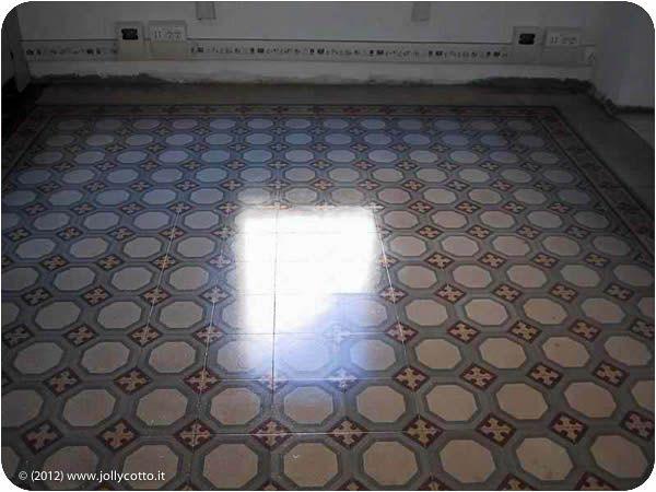pavimenti in marmette di cemento Living apartment Duomo ...