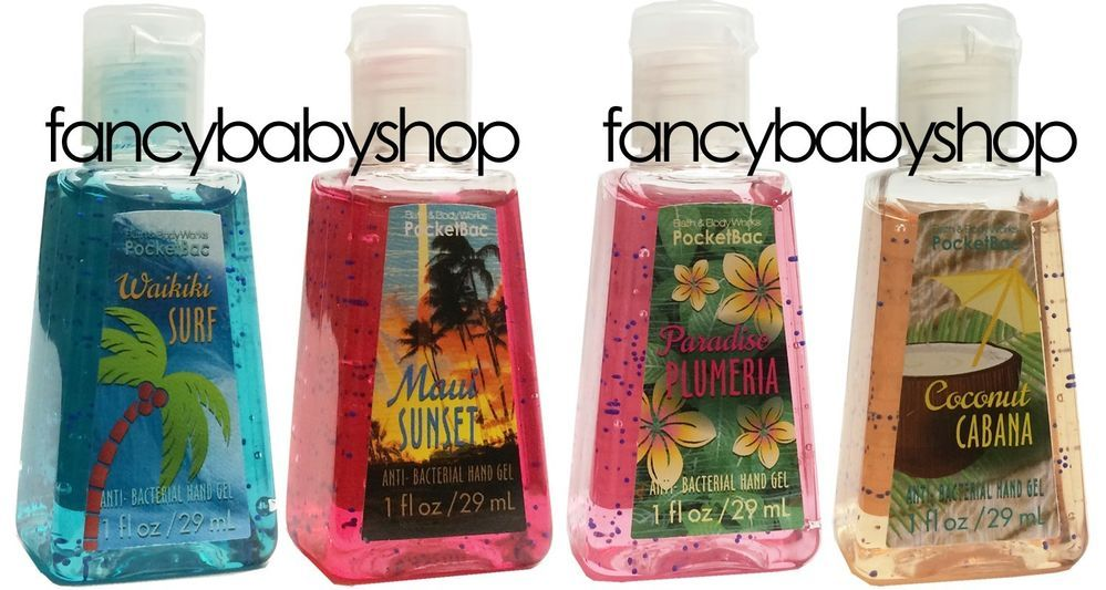 Bath Body Works Pocketbac Hand Sanitizer Gel Tropical Series