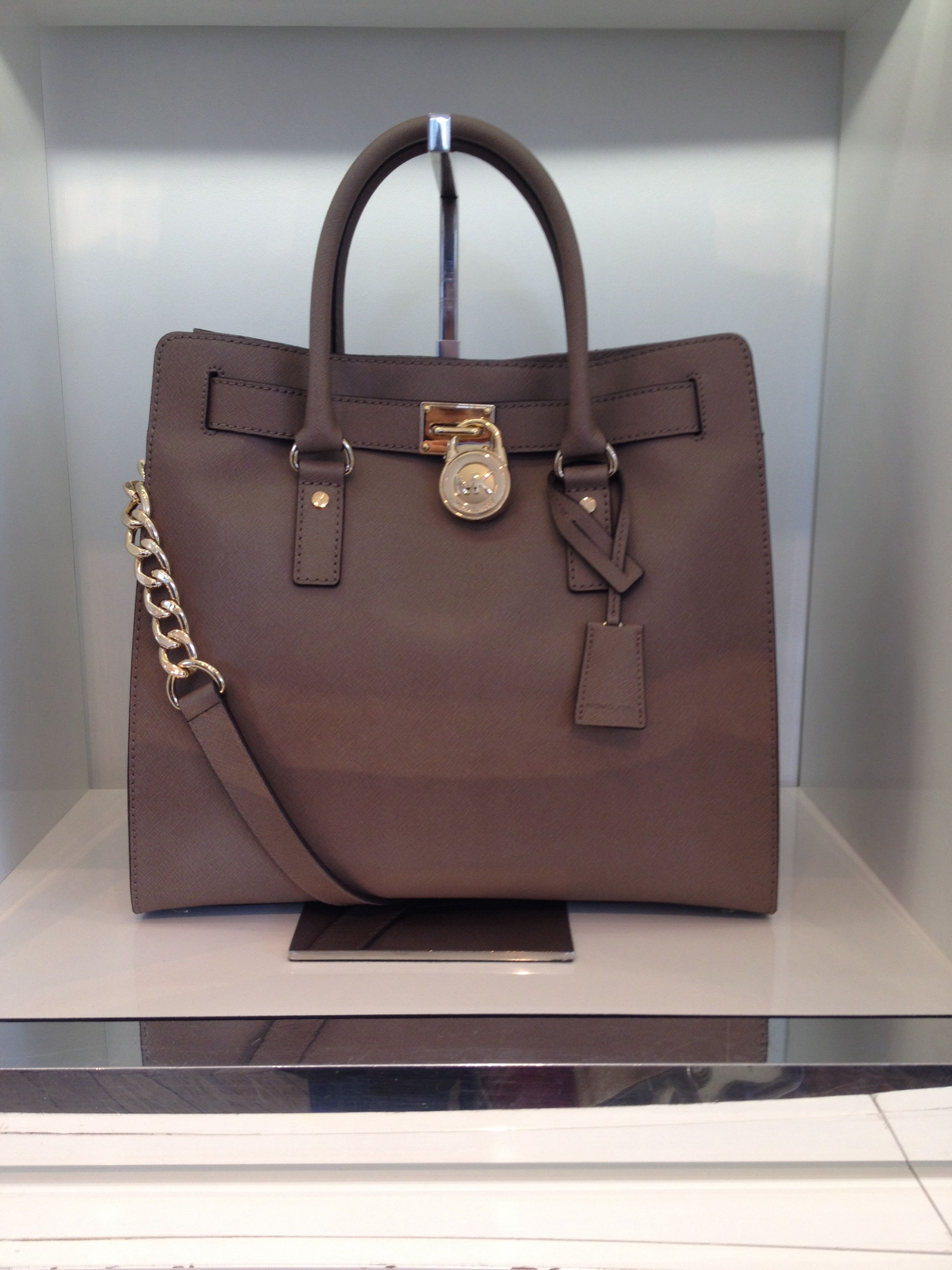 Michael Kors Handbag Got This In Light Grey Silver Hardware One Black With Gold Love