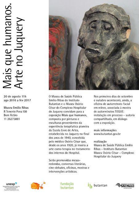 Maria Pinto: exposição MAIS QUE HUMANOS - ARTE no Juquery - Mus...