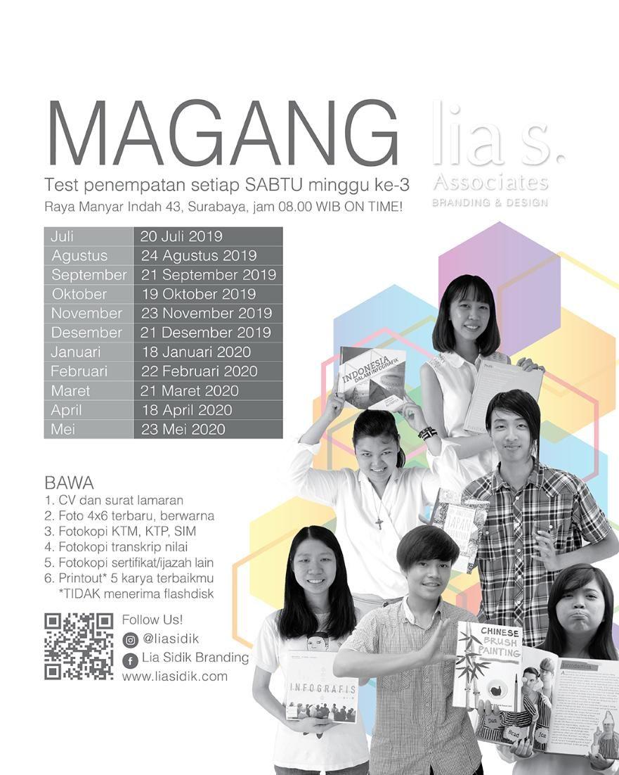 Magang Bisa Part Time Sambil Kuliah Tersedia Posisi Magang Untuk Mahasiswa Siswa Smk Aneka Jurusan Cek Social Media Kami Untuk Info Lebih Instagram Dan Info