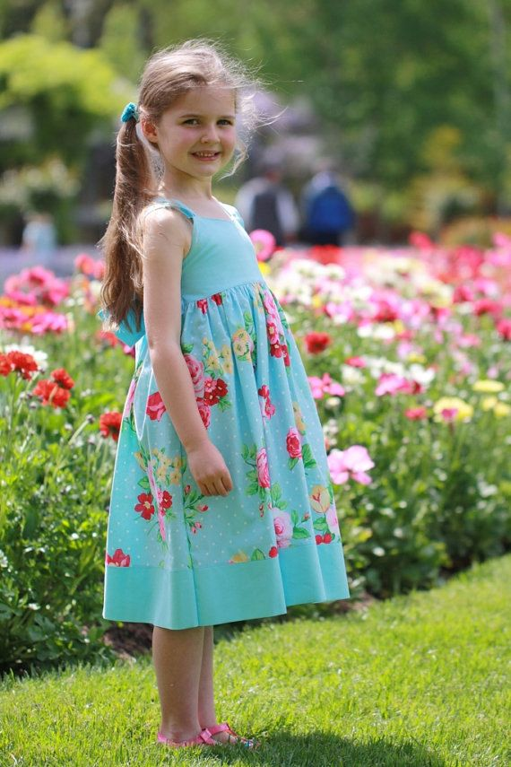 Petite Kids Boutique Ella Dress 12M-8Y PDF Pattern & Instructions ...