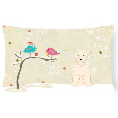Caroline's Treasures Christmas Indoor/Outdoor Lumbar Pillow