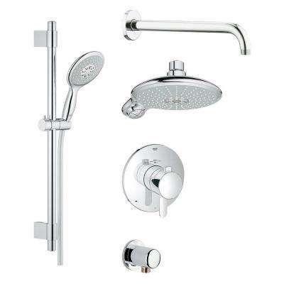Grohflex Cosmopolitan Shower Set 4 Spray Shower System In