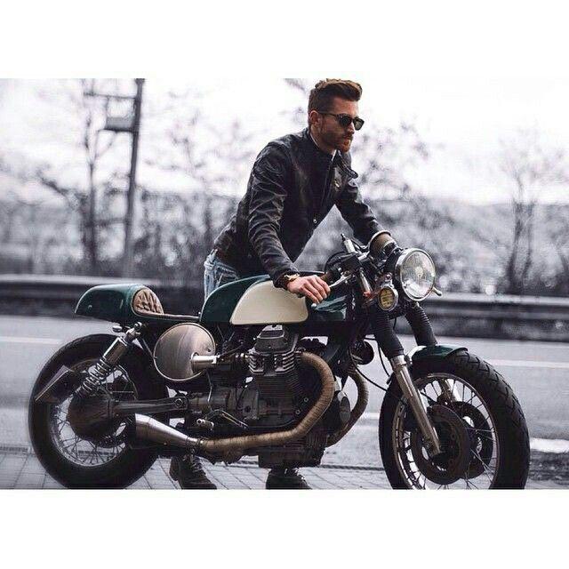 Classy Rider Biker Style Gentleman Style Bike Style