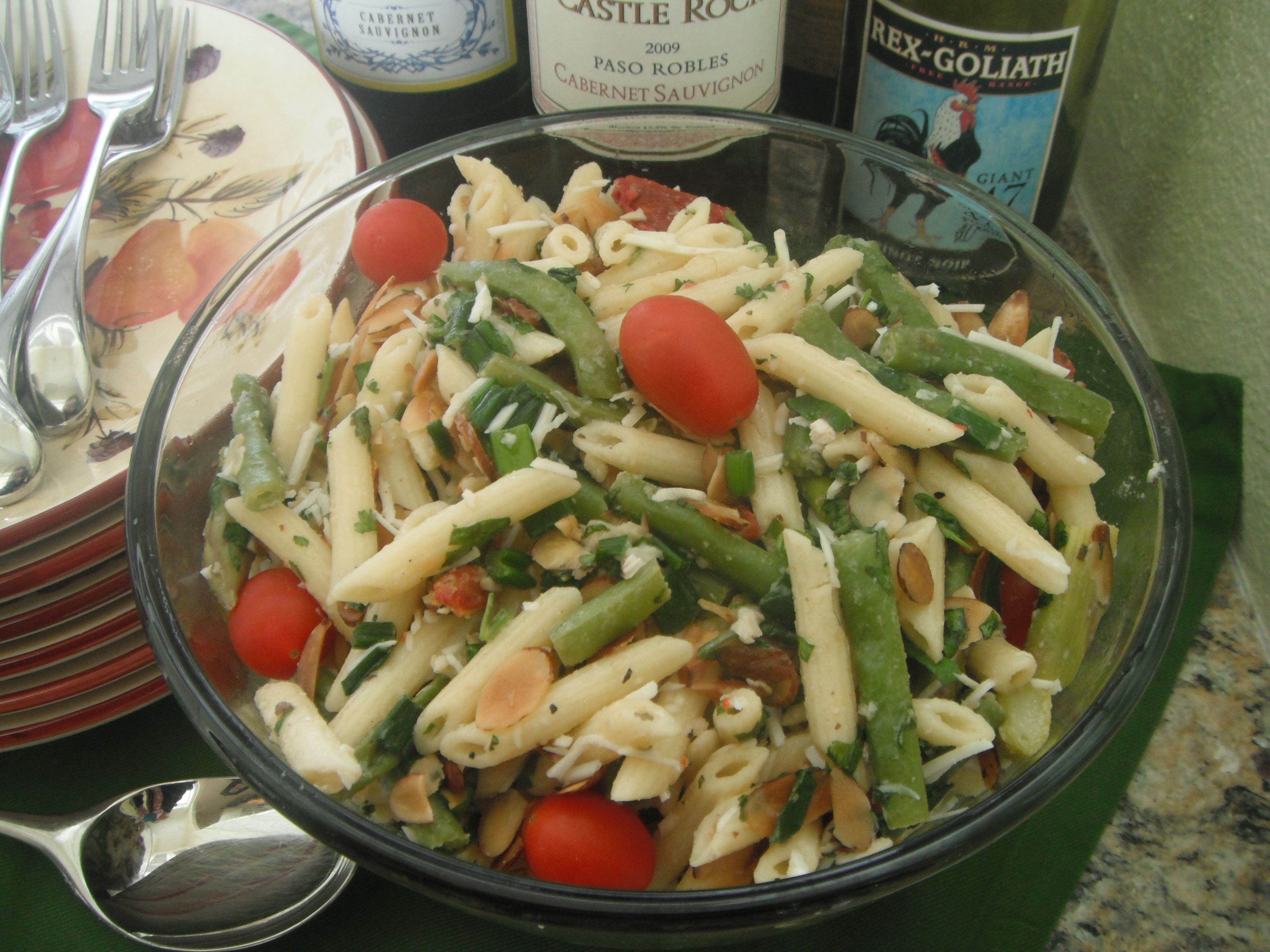 The best pasta salad recipe ever made with girard 39 s for Best summer pasta salad recipes ever