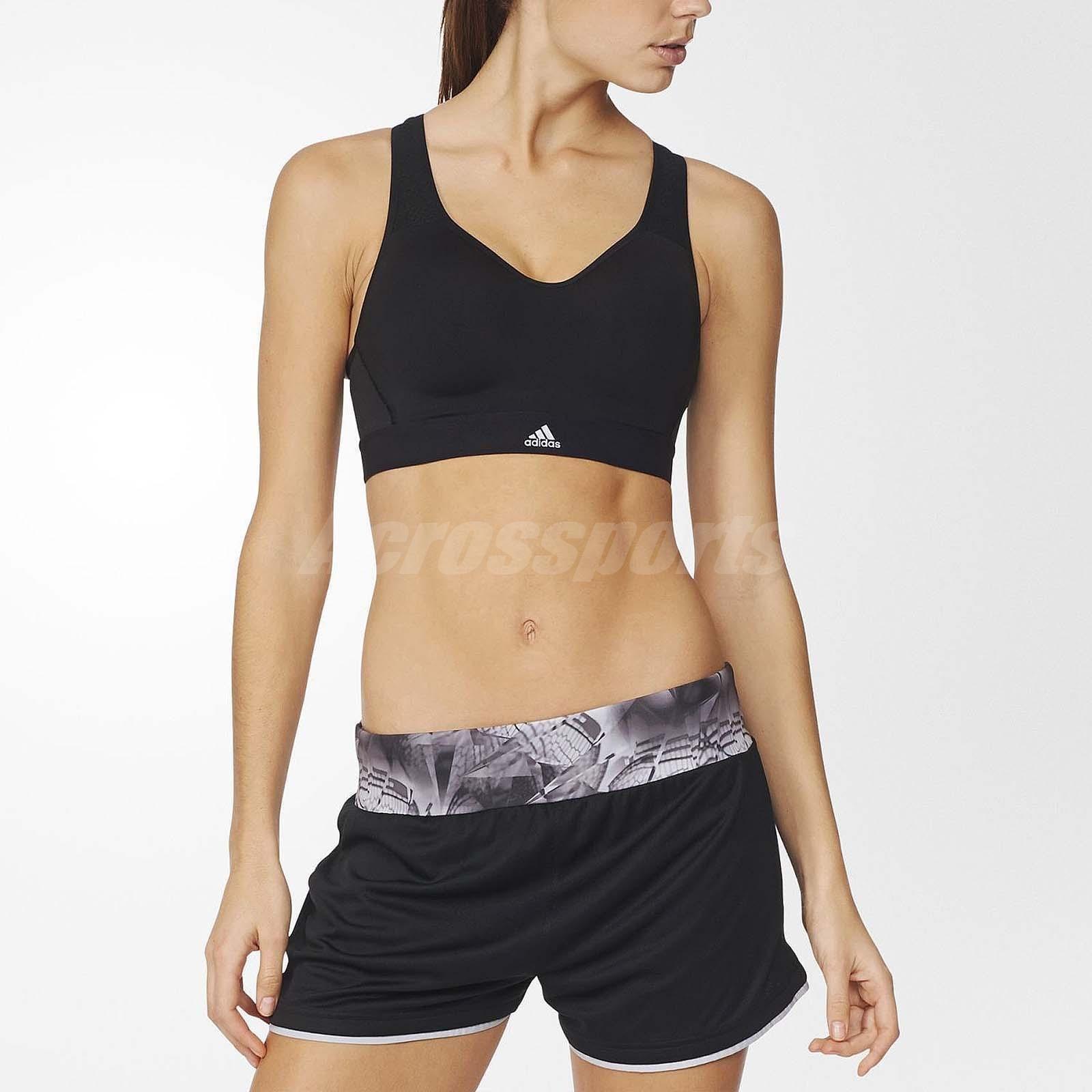 01a2caab8d3a1 Adidas Supernova X Running Bra High Support Fitness Workout Sports Black  Ax5939