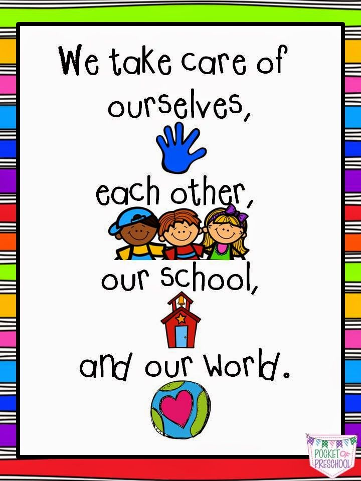 What should be the motto of the kindergarten teacher