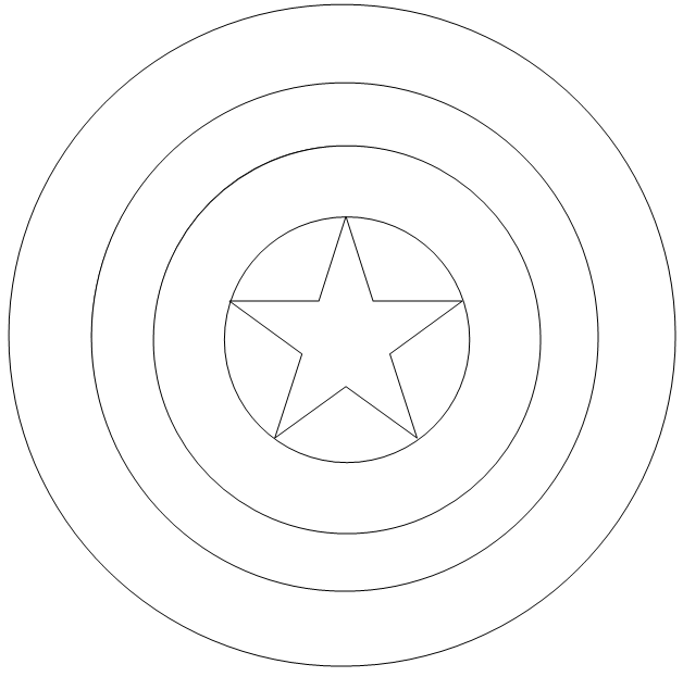 Captain America Shield Coloring Pages 1000+ images about <b>captain ...