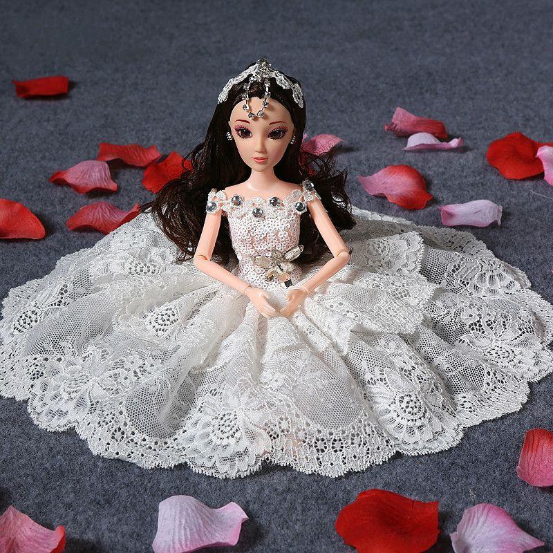 30cm Fashion Princess Dolls Car Wedding Suits S Toys Birthday