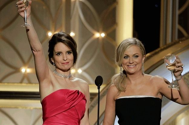 #goldenglobes #tinafey #amypoehler #awards #parksandrec #parksandrecreation #30rock #SNL #funny