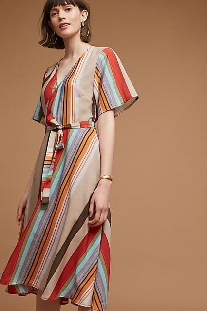 f29322697dde Porridge Clothing Lana Striped Dress   Fashion   Dresses, Striped ...