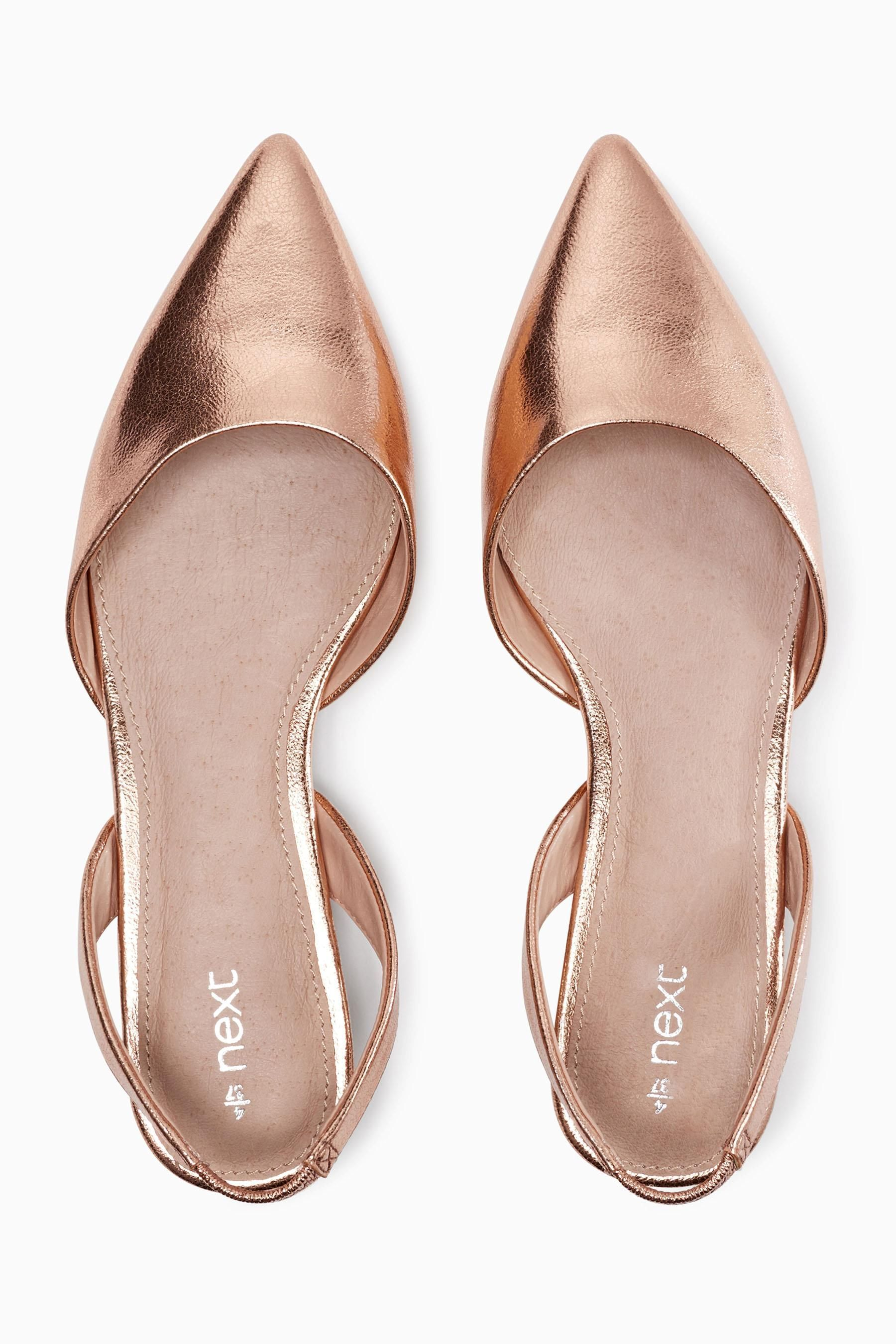 12b9720ec799 Buy Rose Gold Slingback Points from the Next UK online shop